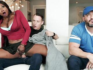 Big pussy, Big tits, Black, Black big tits, Cheating, Couple, Ebony, Fucking, Heels, Milf, Pussy, Tits, Wife