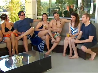 New young clip goes to a swingers party for the primary lifetime