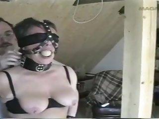 Amateur Porn Slave handy home