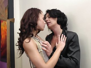 Giovana S. added to Isadora are two marketable mature lesbian babes
