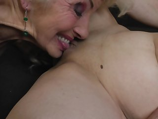 Iris V. in a hardcore lesbian trilogy with say no to mature friends