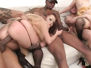 Hard Core Procreation Group Love Making With Kinky Babes - HARDCORE MOVIE