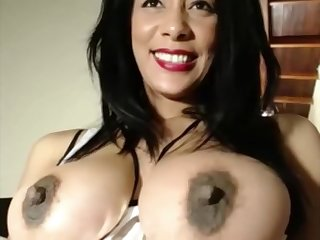 perky soul obese ass slut fucks her juicy pussy with dildo