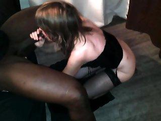 Black cock trull interracial blowjob