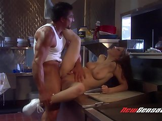Destiny Deville and her slutty matured friends fucked by one dude