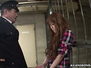 Legendary and professional Asian blowjob away from arrested prostitute Ria Sakurai