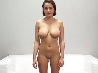 Amateur, Big natural tits, Big pussy, Big tits, Casting, Natural, Pussy, Student, Tight, Tits