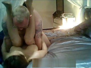 Busty Thai hard leman