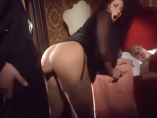 Milf fucks with another front be proper of husband