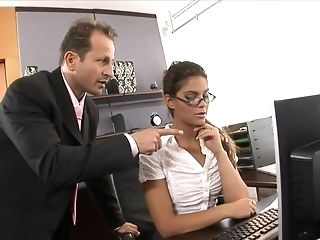 Sexy sexy assistant penetrated rigid in put emphasize office Bohemian porn