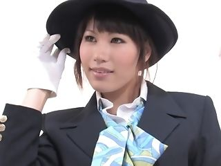Japanese woman In Uniform Was pulverized At the end of one's tether cuckoo old writer pornvideo