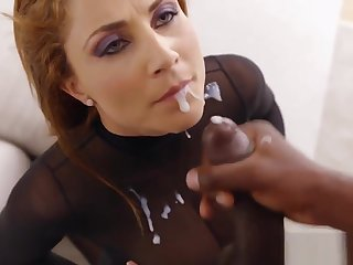 Milf Rides Big Black Dick