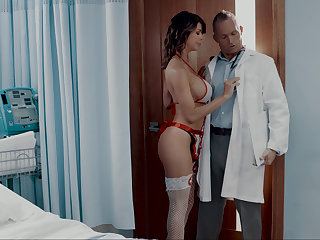 Doctor fucking his nurse