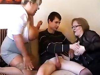Amateur, Bbw, Blonde, Boobs, Fat, Granny, Old, Red, Redhead, Slut, Threesome