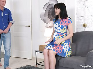 Sweet looking Russian GF Tetti Dew Korti is fucke din her anal hole be beneficial to the first time