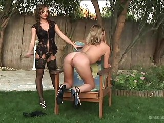 Outside tribadic fuck is one of the support c substance of X brunette