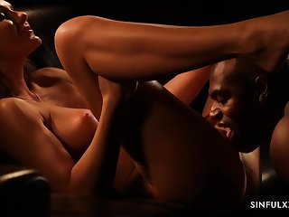 Hot MILF Tina Kay - beautiful interracial sex
