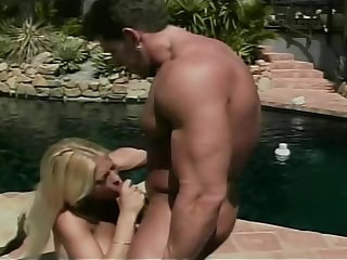 Spectacular beauteous babe gets her pussy drilled