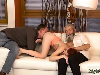 Yoke blondes and sexy oiled Precipitous practice with an