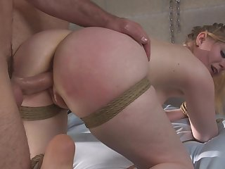 Obedient step daughter sucks the dick down to the ground vassalage