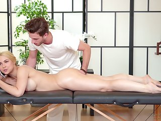 Sexy liaison woman Sarah Vandella is well off relating to handsome massage boy