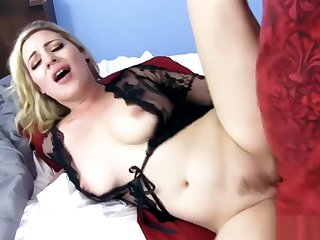 Hot Blonde Step Mom Needs Young, Hard Bushwa To Fulfill Her (TWO Videos)
