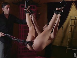 Bondage experience and hard be crazy is memorable with Abella Gamble