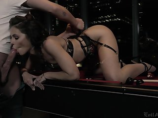 Spoiled comprehensive Adriana Chechik gets fucked and jizzed overwrought three kinky client