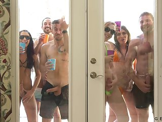 These people love to party and they have the craziest orgies eternally