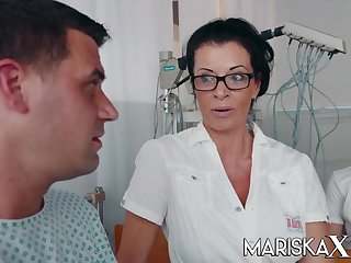 Busty Grown up Doctor Dacada fucks her patient and coworkers - Rick angel